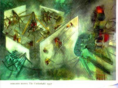 Modern Art wallpaper called Roberto Matta