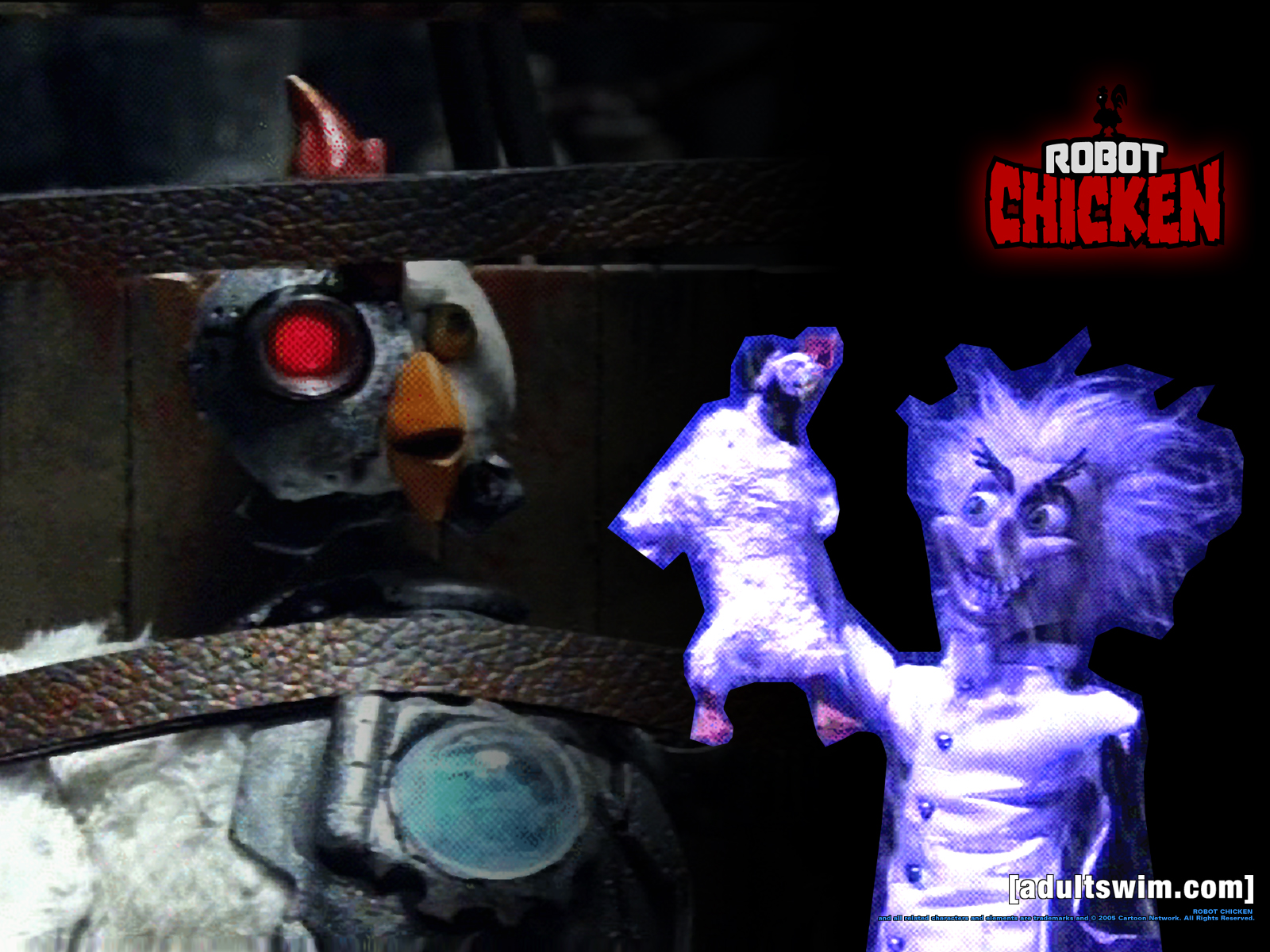 Picture of Robot chicken - #7