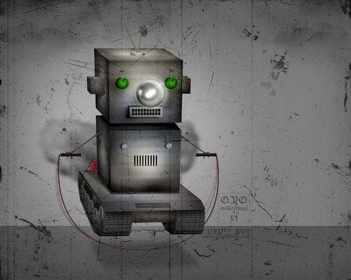 Robot achtergrond