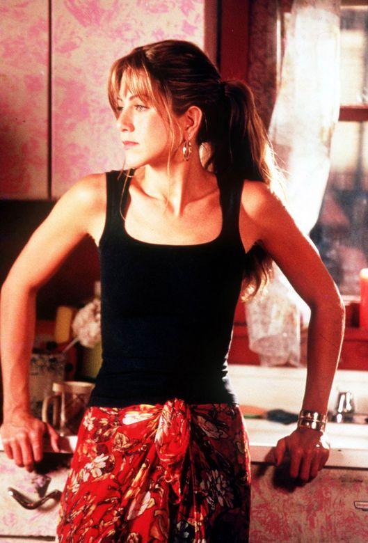 Jennifer Aniston Rock Star Fishnet