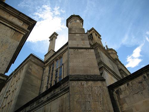 Rockingham istana, castle - UK
