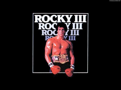80s Films 바탕화면 entitled Rocky 3