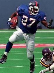 Rodney Hampton 1990-1997