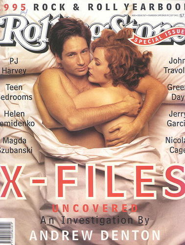 The X-Files wallpaper entitled Rolling Stone: Cover I