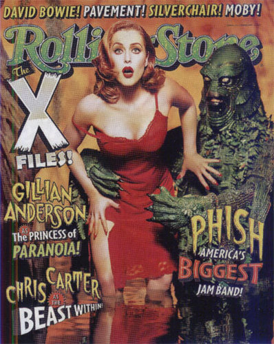The X-Files achtergrond called Rolling Stone Cover II