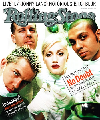 No Doubt wallpaper titled Rolling Stone Cover