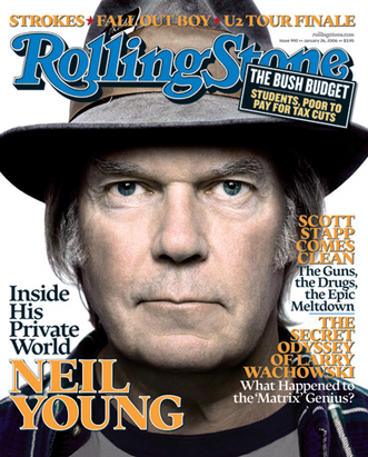 Neil Young 壁紙 called Rolling Stone