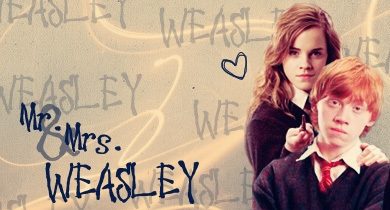 romione wallpaper titled Ron & Hermione