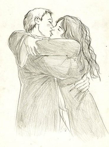 Ron/Hermione fan Art