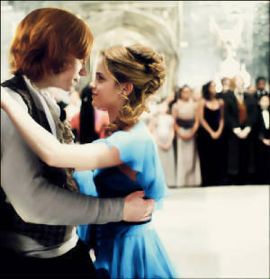 Romione wallpaper called Ron and Hermione