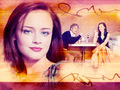 gilmore-girls - Rory & Logan wallpaper