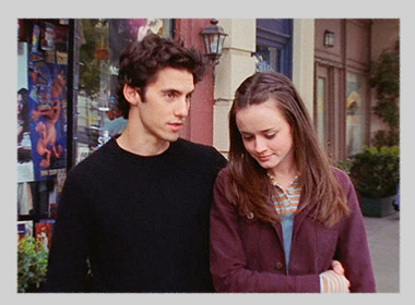 Rory and Jess - gilmore-girls Screencap