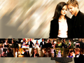 gilmore-girls - Rory and Logan wallpaper