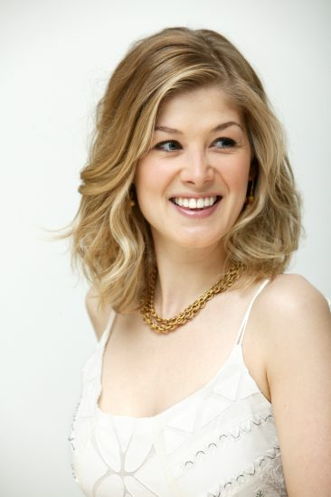 Actress Rosamund Pike ...