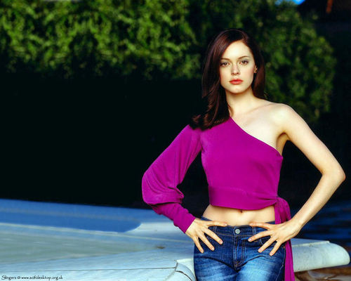 Charmed wallpaper titled Rose McGowan