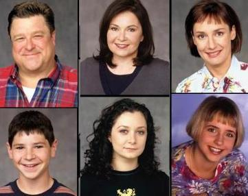 Roseanne achtergrond entitled Roseanne Cast