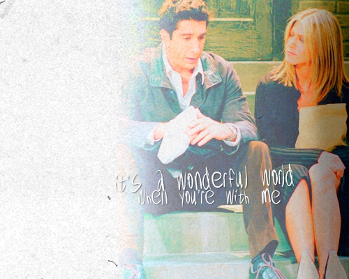 Ross and Rachel