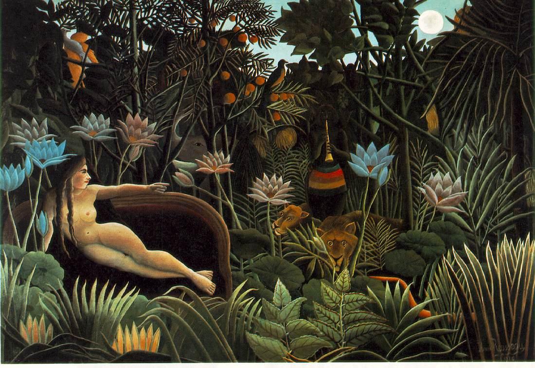 Rousseau> The Dream