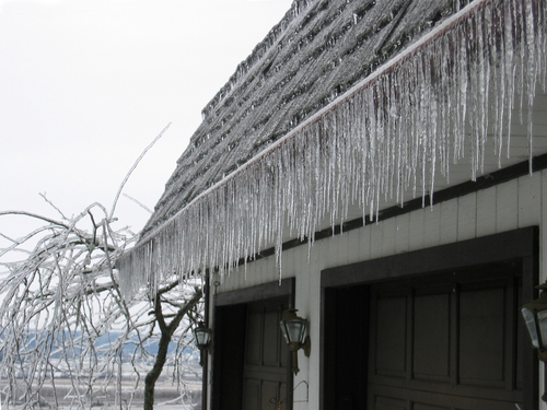 Row of Icicles