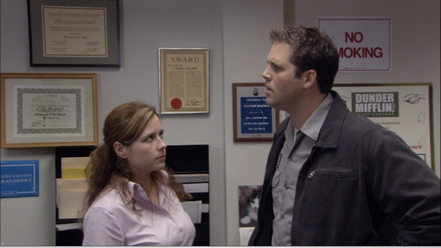 Roy and Pam The Alliance
