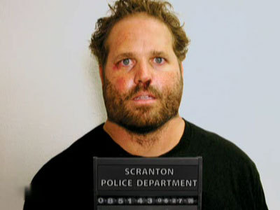 The Office achtergrond entitled Roy's Mugshot