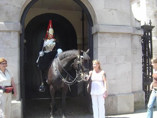 Royal Biting Horse