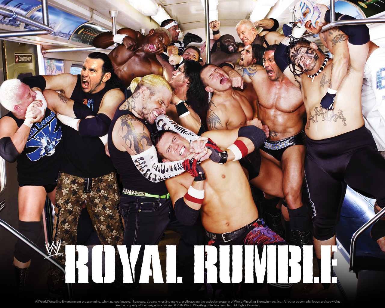 Royal Rumble 2008 - Professional Wrestling 1280x1024