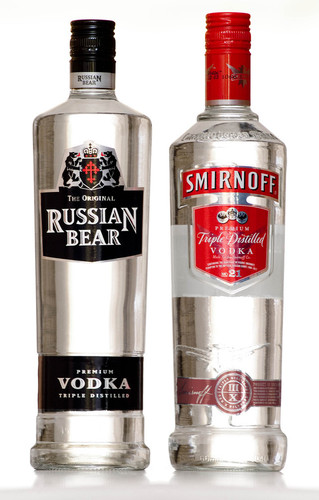 Vodka wallpaper called Russian and Smirnoff