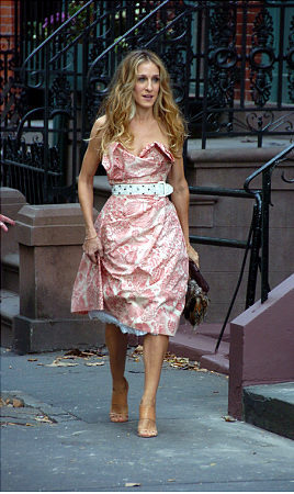 SATC in Greenwich Village