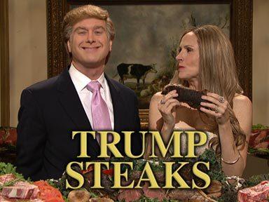 Saturday Night Live wallpaper called Trump Steaks