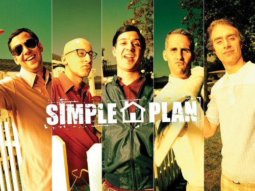 Simple Plan achtergrond titled SP