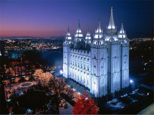 Mormonism wallpaper titled Salt Lake Temple