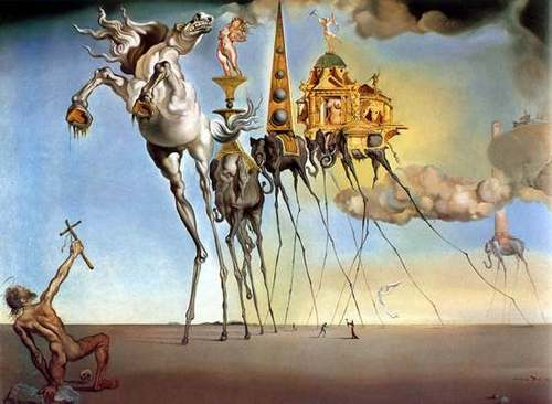 Modern Art wallpaper titled Salvador Dali