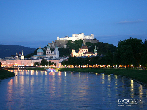 Europe wallpaper titled Salzburg, Austria