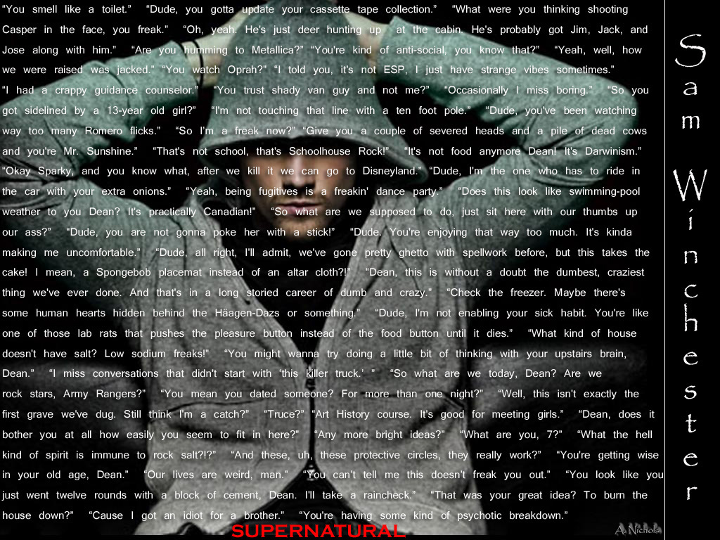1000+ images about Supernatural on Pinterest | Dean o ...  1000+ images ab...