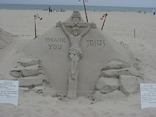 キリスト教 壁紙 titled Sand Art