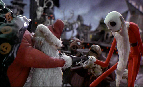 Nightmare Before Christmas wallpaper titled Sandy Claws