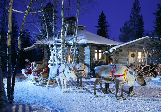 Decoration De Noel En Laponie