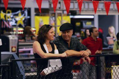 CSI wolpeyper entitled Sara & Grissom