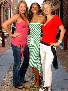 Sarah, Melanie, Shavonda