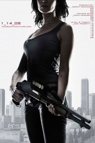 Televisyen kertas dinding titled Sarah Connor Chronicles