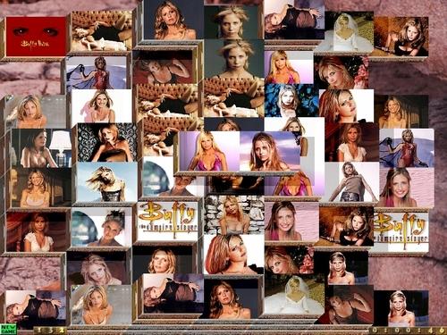 Sarah Michelle Gellar Collage