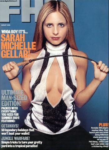 Sarah Michelle Gellar wallpaper called Sarah Michelle Gellar FHM