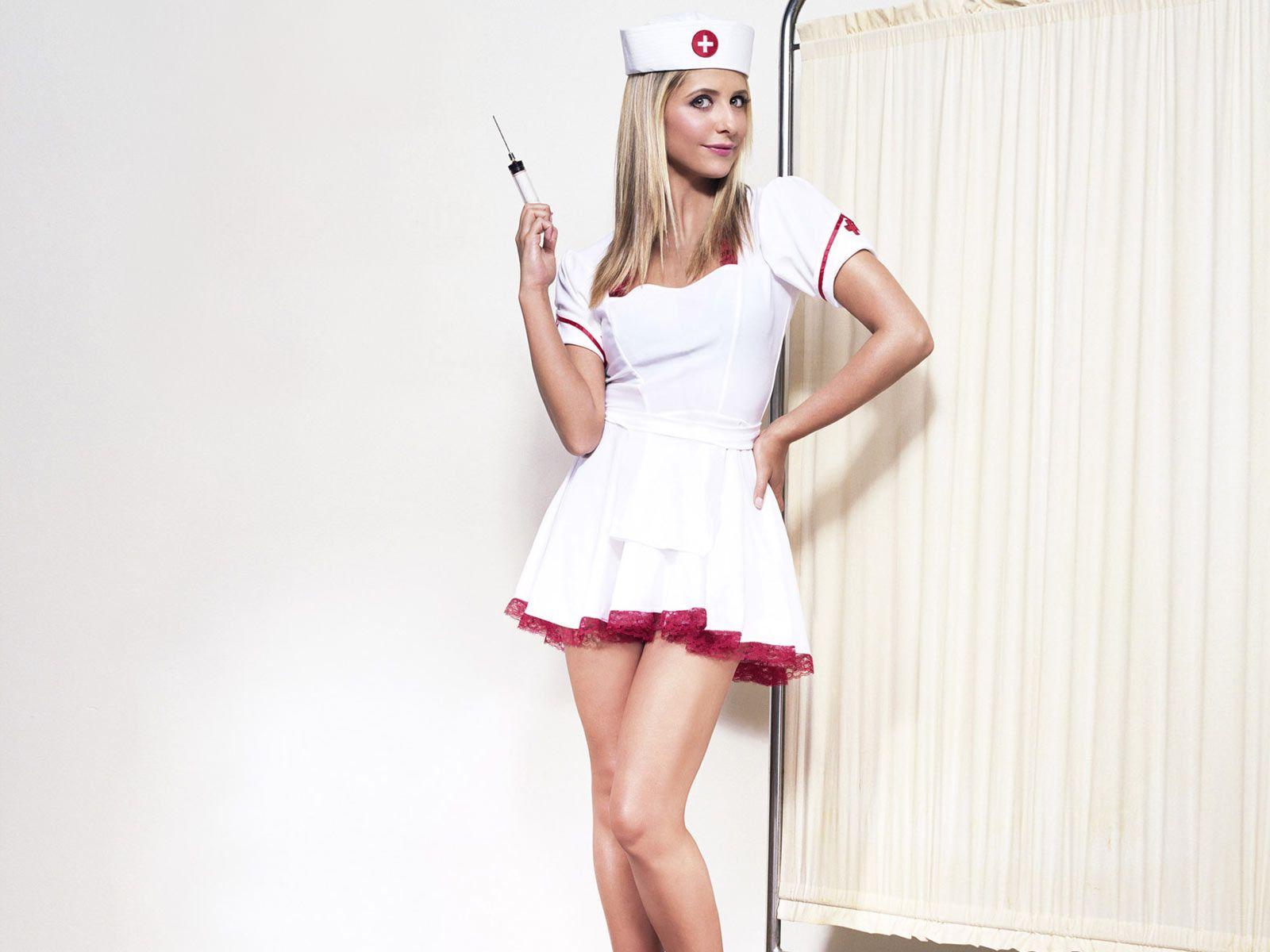 медсестра фото любительские