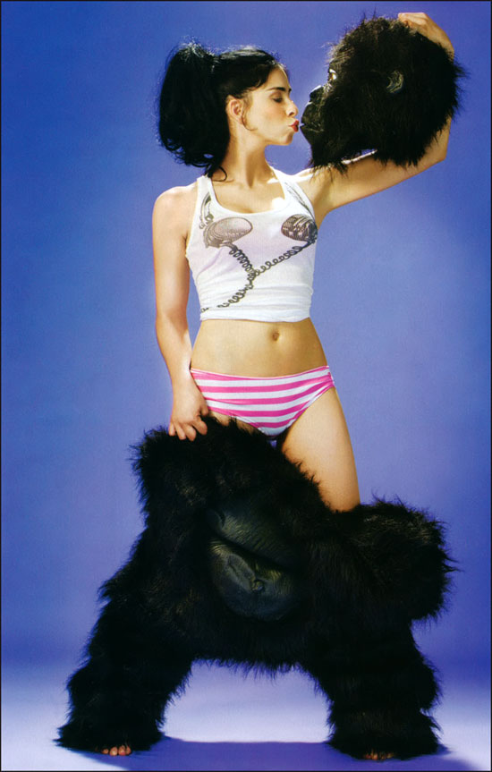 Sarah Silverman Maxim Shoot