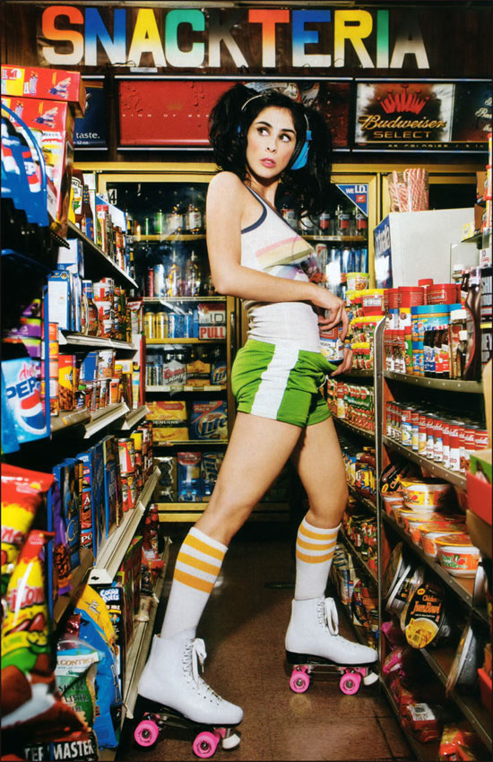 Sarah Silverman Maxim Shoot