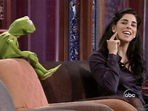 Sarah and Kermit