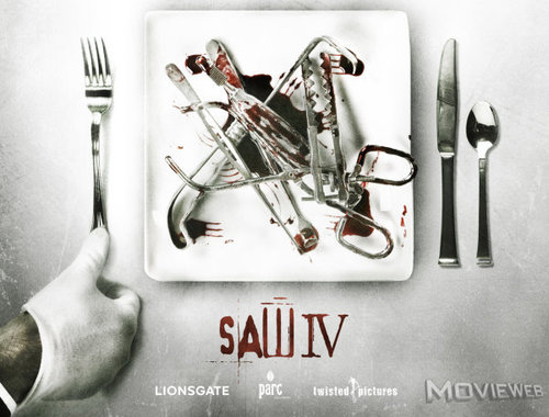 Horror Movies images Saw IV Early Promo Art wallpaper and background photos