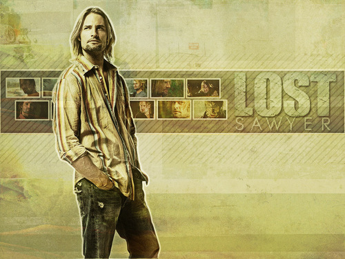 Lost wallpaper entitled Sawyer