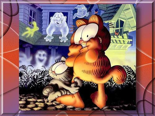 Garfield wallpaper called Scared Garfield